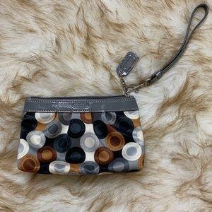 Coach wristlet/coin purse